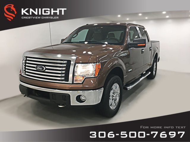 Certified Pre-Owned 2012 Ford F-150 XLT SuperCrew V6 | Remote Start