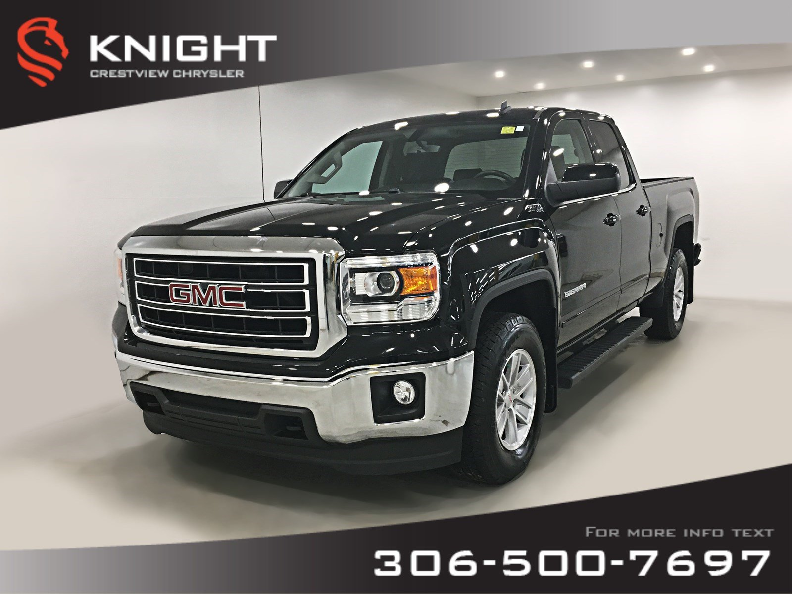 Certified Pre-Owned 2014 GMC Sierra 1500 SLE Double Cab | Remote Start