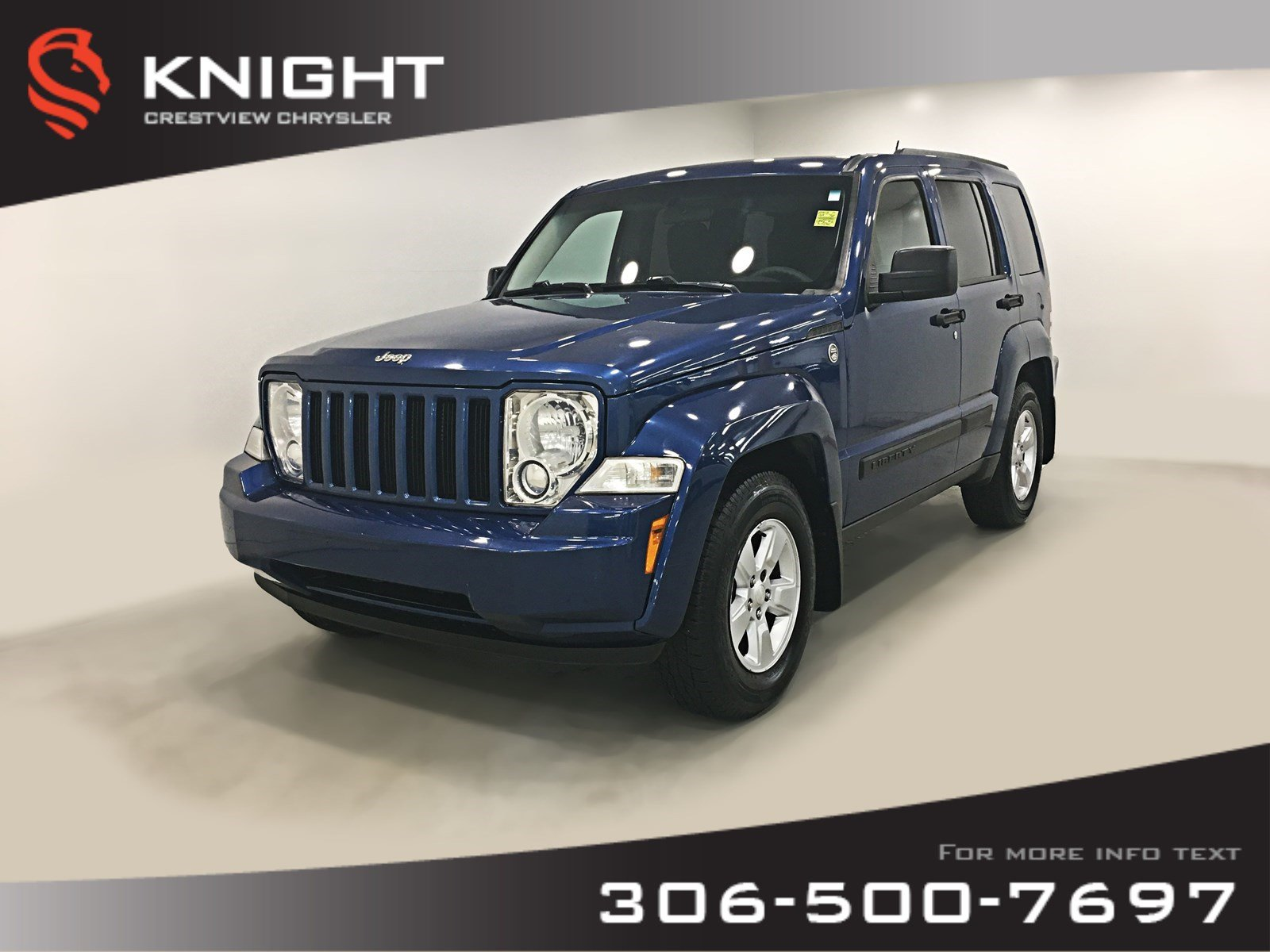 Pre-Owned 2009 Jeep Liberty Sport 4WD | Remote Start