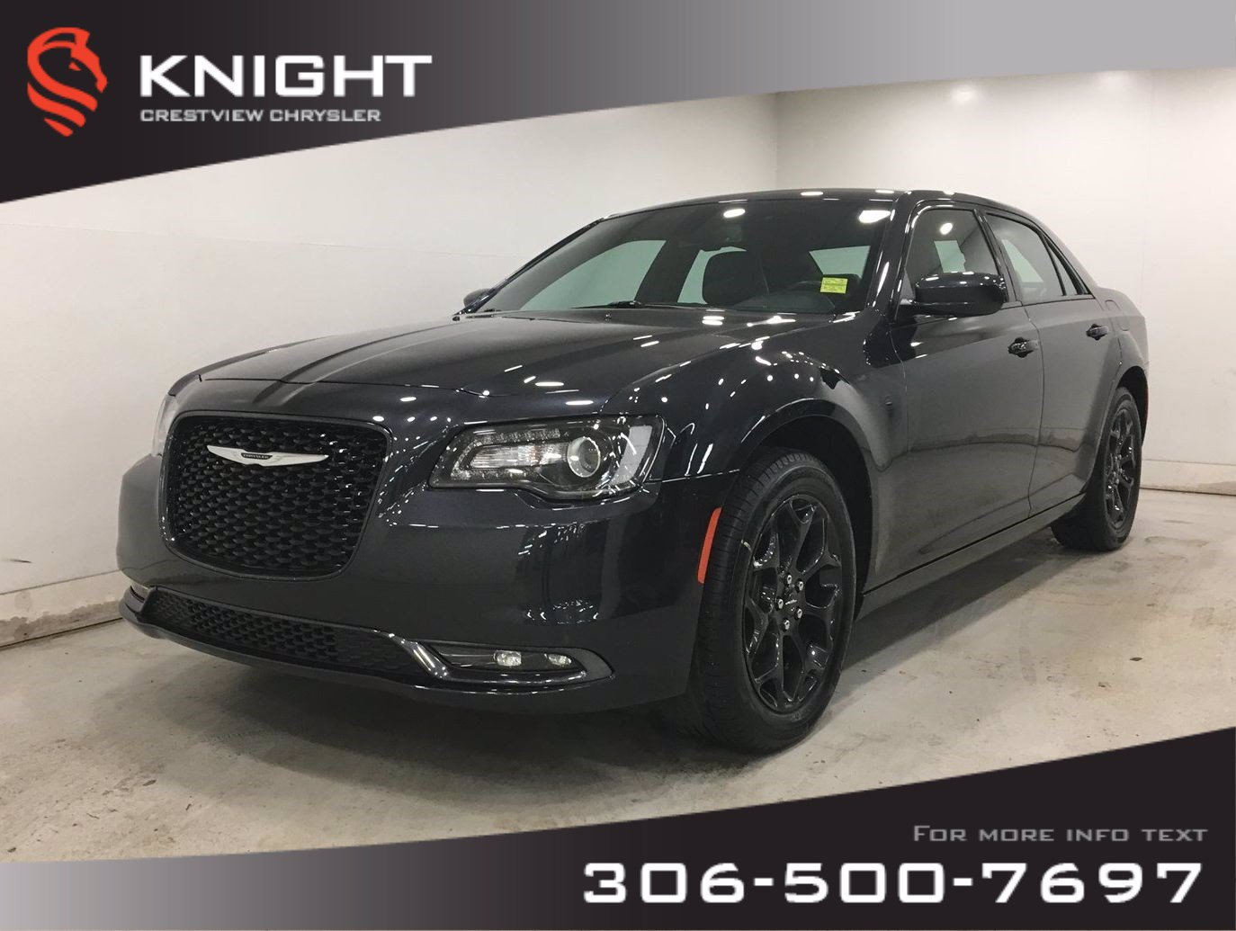 Certified Pre-Owned 2019 Chrysler 300 S AWD | Leather
