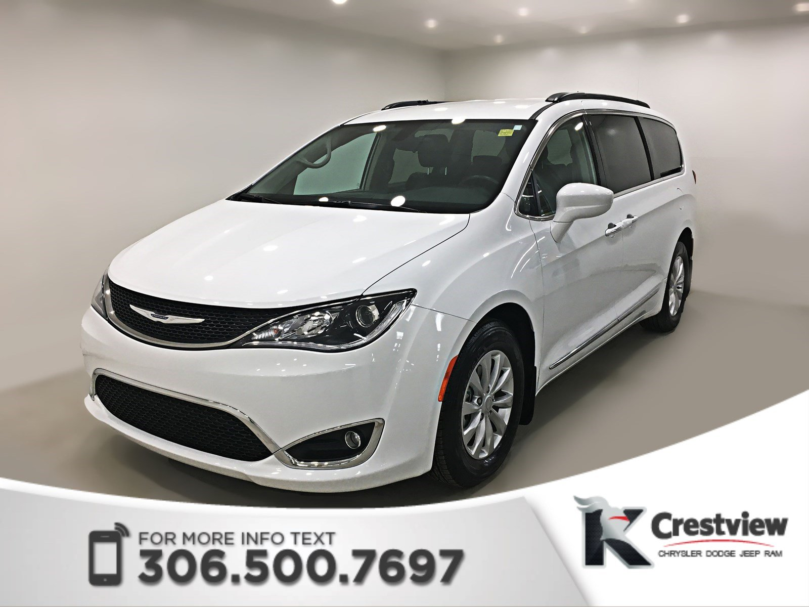 Certified Pre-Owned 2017 Chrysler Pacifica Touring-L | Navigation | Remote Start