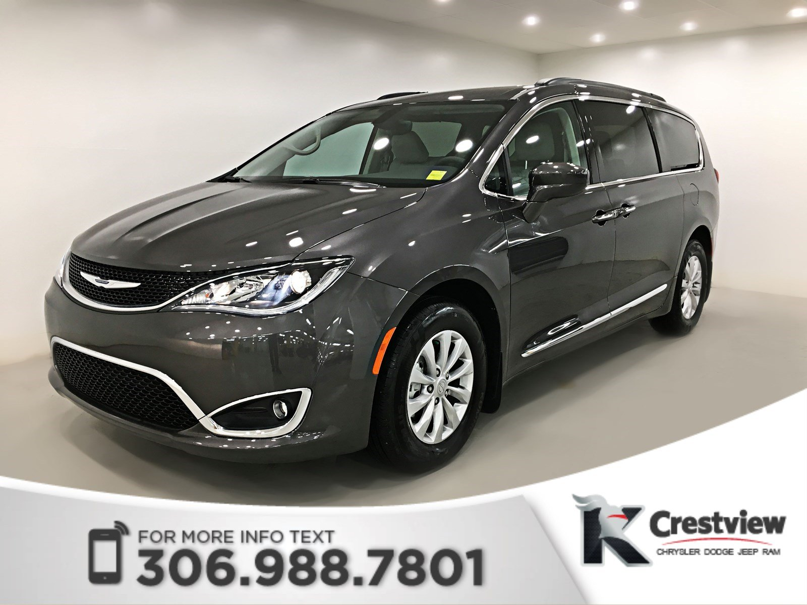 used 2017 chrysler pacifica touring l leather mini van passenger near moose jaw pp1590. Black Bedroom Furniture Sets. Home Design Ideas