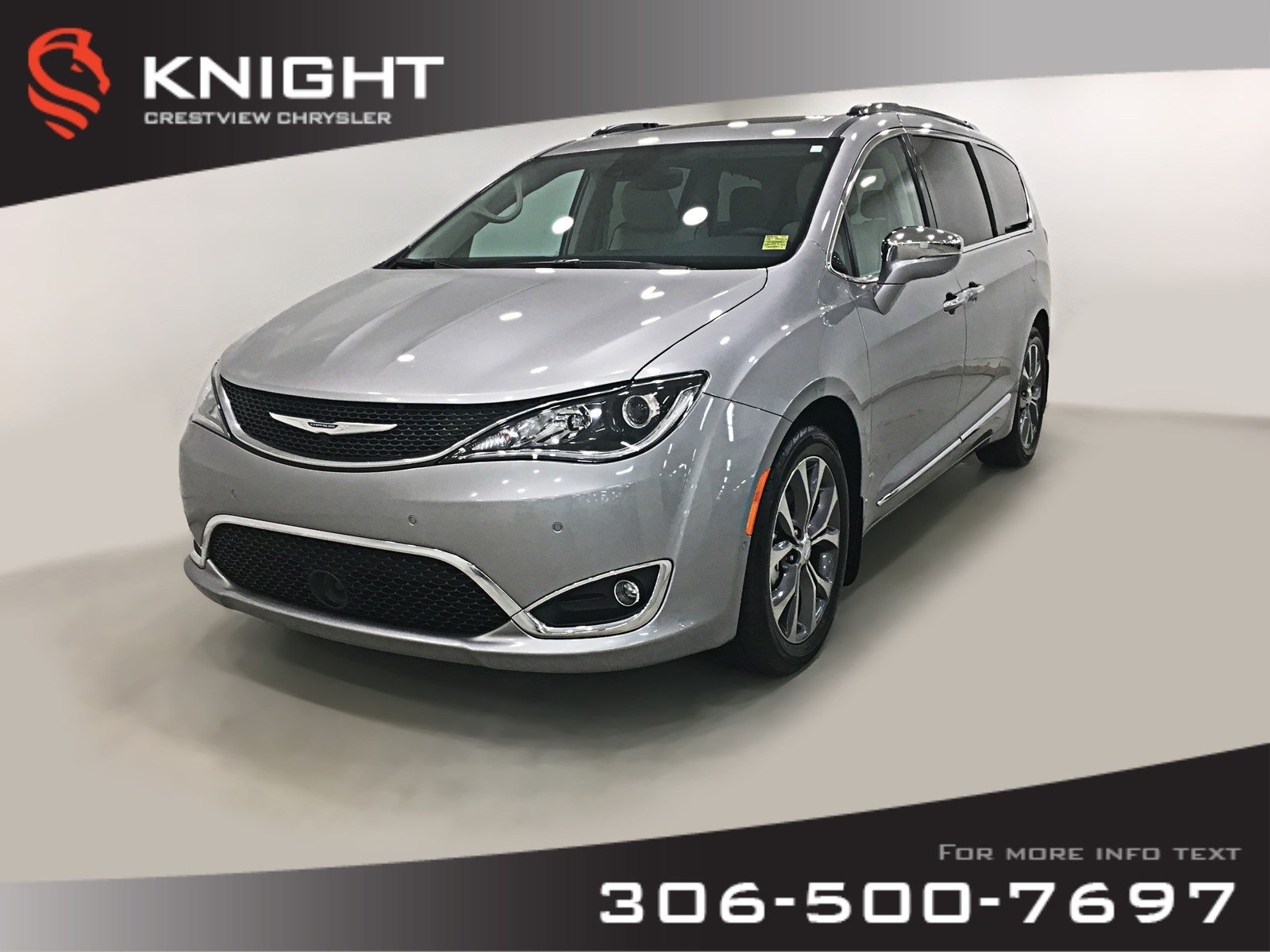 Certified Pre-Owned 2017 Chrysler Pacifica Limited | Sunroof | Navigation | DVD
