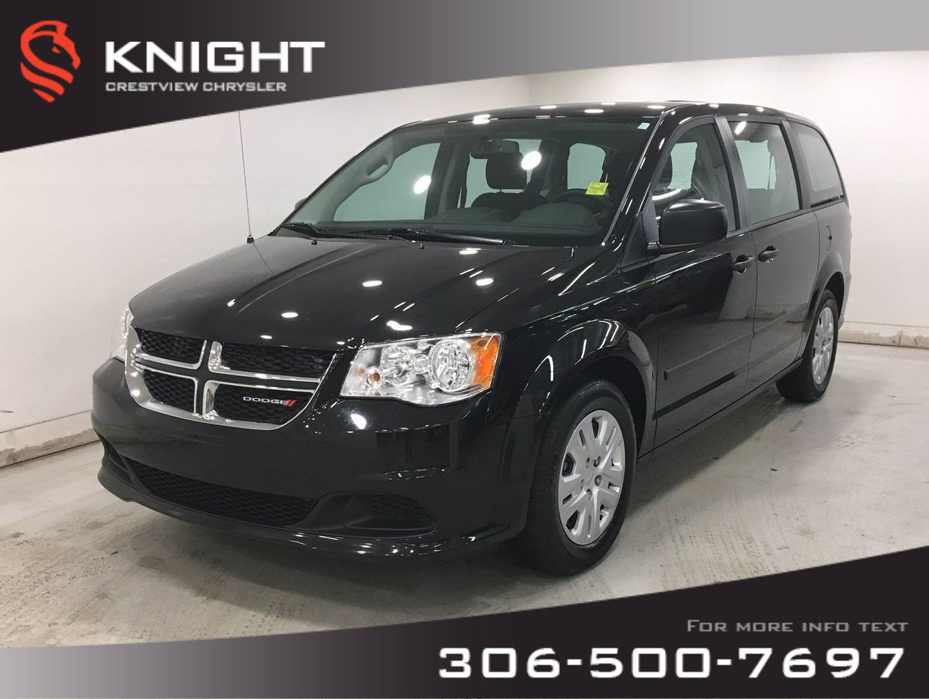 Certified Pre-Owned 2017 Dodge Grand Caravan Canada Value Package | Bluetooth | SiriusXM