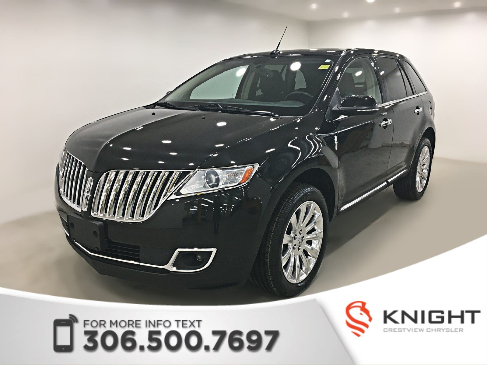 Pre-Owned 2015 Lincoln MKX AWD | Leather | Sunroof | Navigation