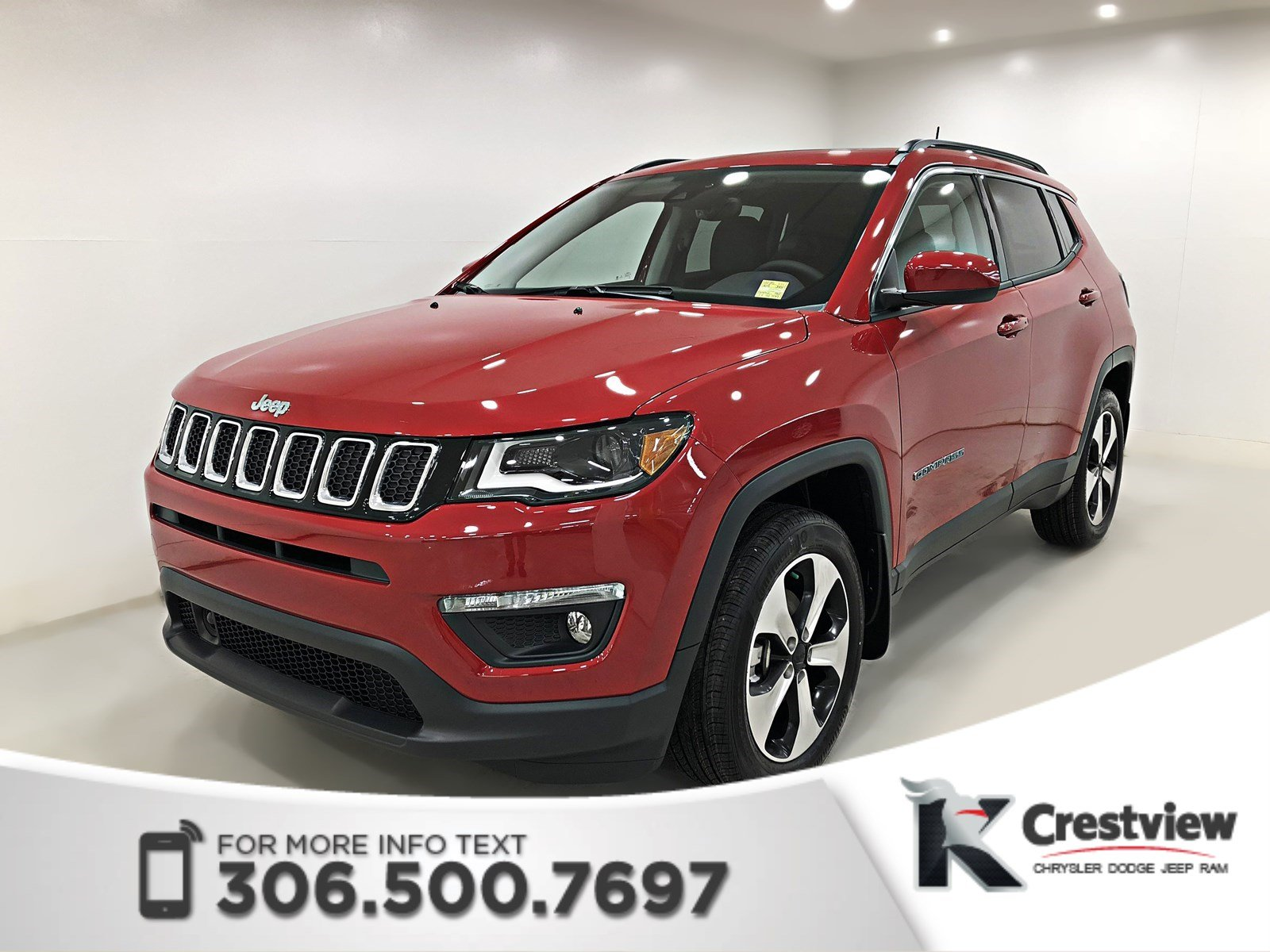new 2018 jeep compass north 4x4 sunroof navigation sport utility near moose jaw 18c25. Black Bedroom Furniture Sets. Home Design Ideas