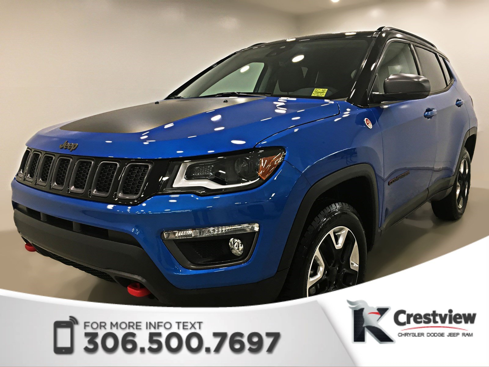 New 2018 Jeep Compass Trailhawk 4x4 | Leather | Sunroof