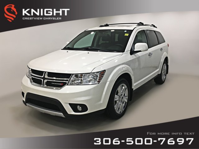 Certified Pre-Owned 2015 Dodge Journey R/T AWD | Leather | Sunroof | Navigation | DVD