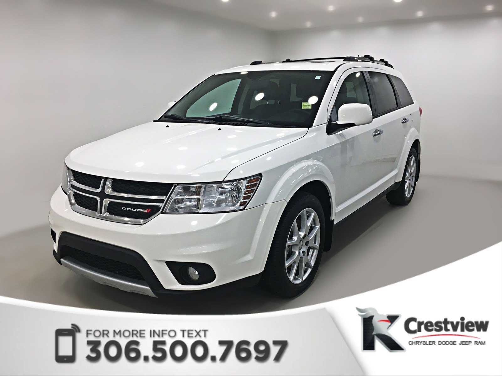 Pre-Owned 2015 Dodge Journey R/T AWD | Sunroof | Navigation | DVD