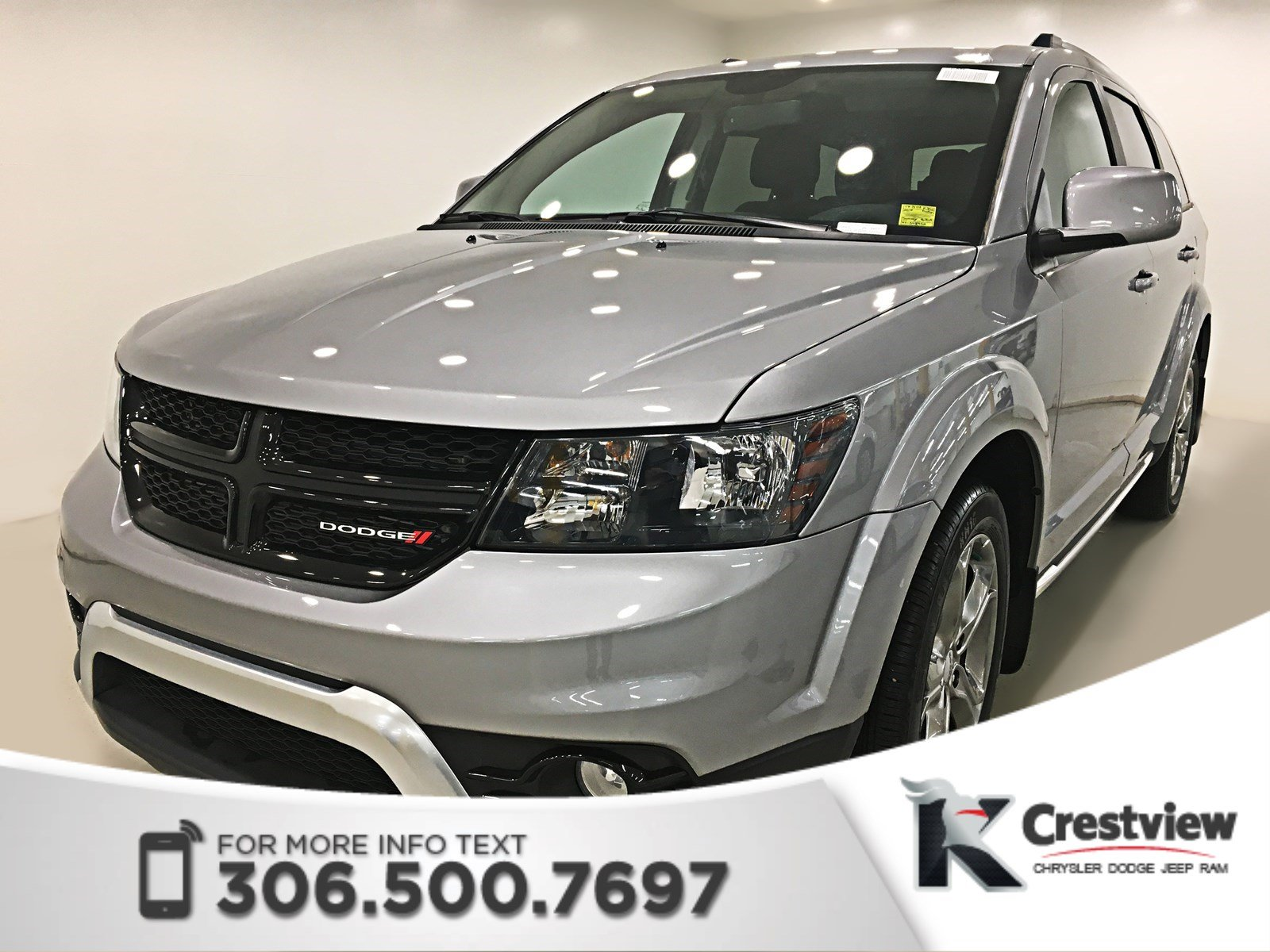 Certified Used 2017 Dodge Journey Crossroad Awd V6 Dvd