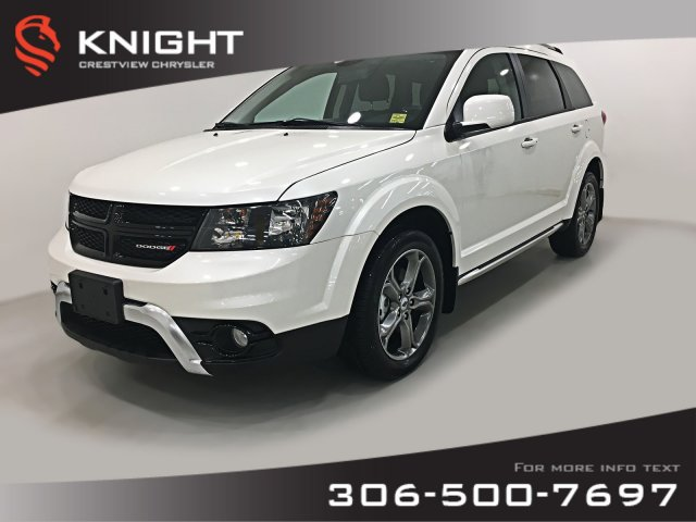 Certified Pre-Owned 2018 Dodge Journey Crossroad AWD V6 | Navigation | DVD