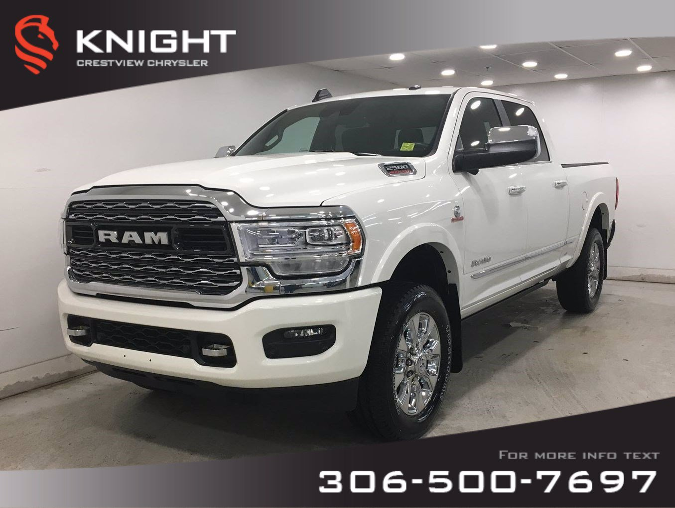 New 2019 Ram 2500 Limited Crew Cab | Sunroof | Navigation | 12 Touchscreen