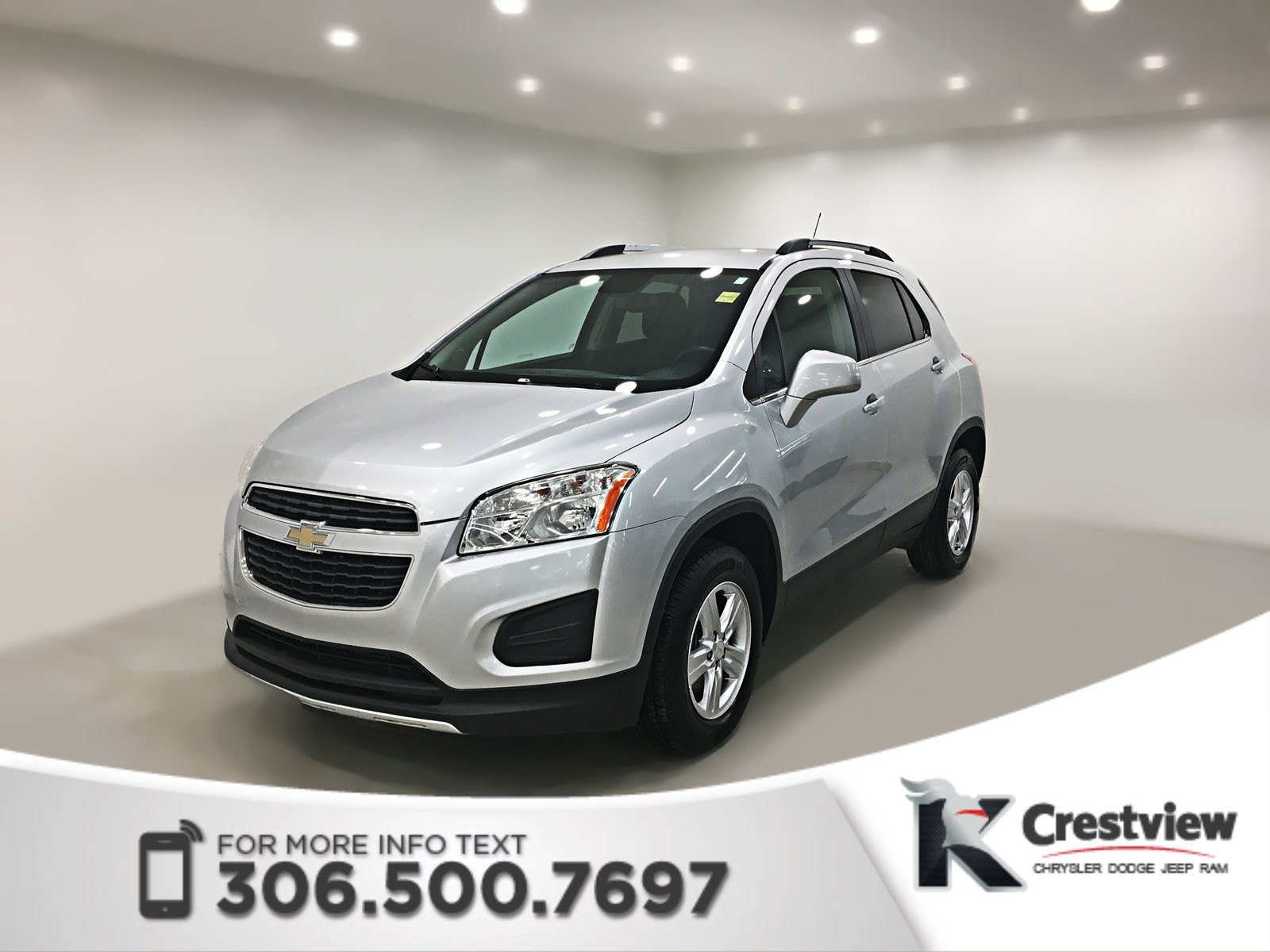 Certified Pre-Owned 2014 Chevrolet Trax LT AWD | Turbocharged