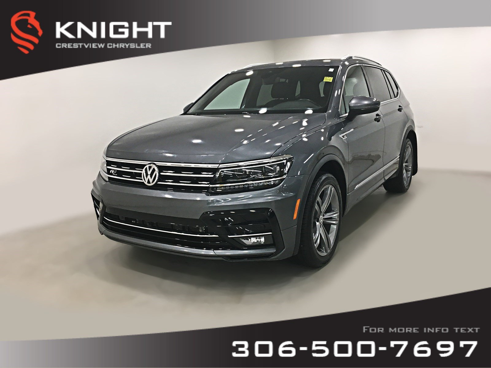 Certified Pre-Owned 2018 Volkswagen Tiguan Highline | Leather | Sunroof | Navigation