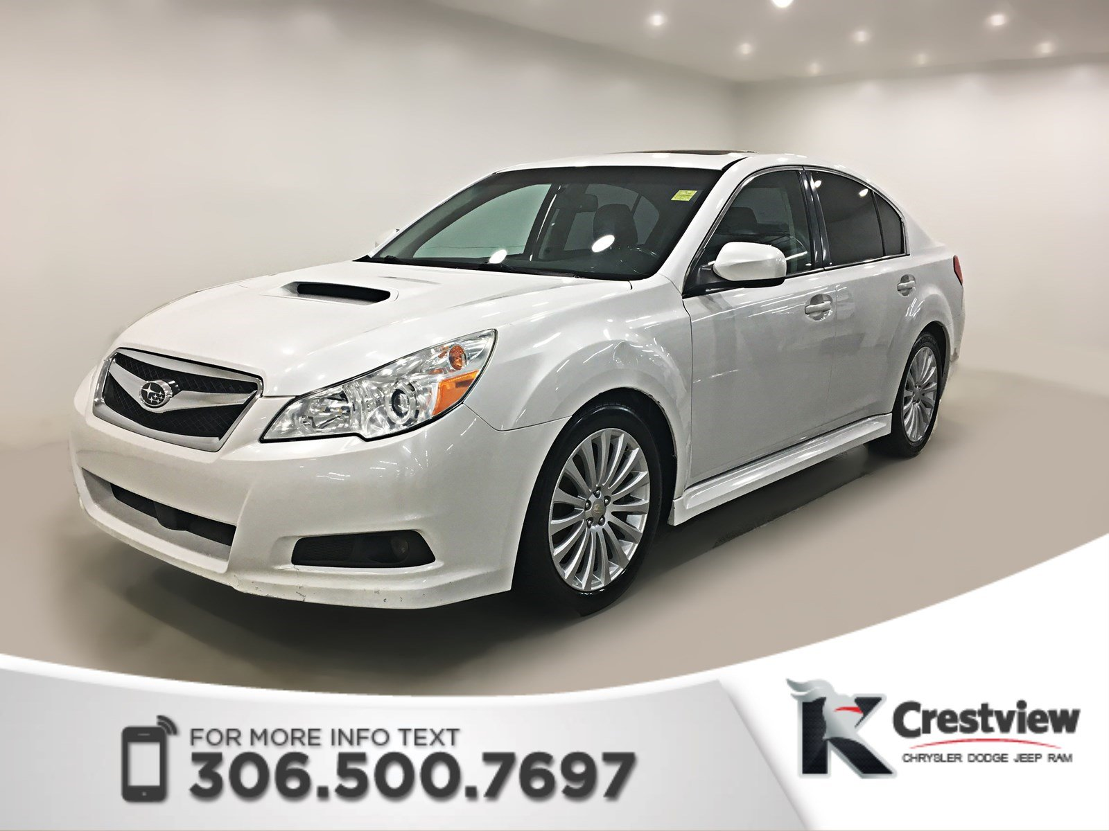 Pre-Owned 2010 Subaru Legacy GT Limited | Leather | Sunroof | Navigation