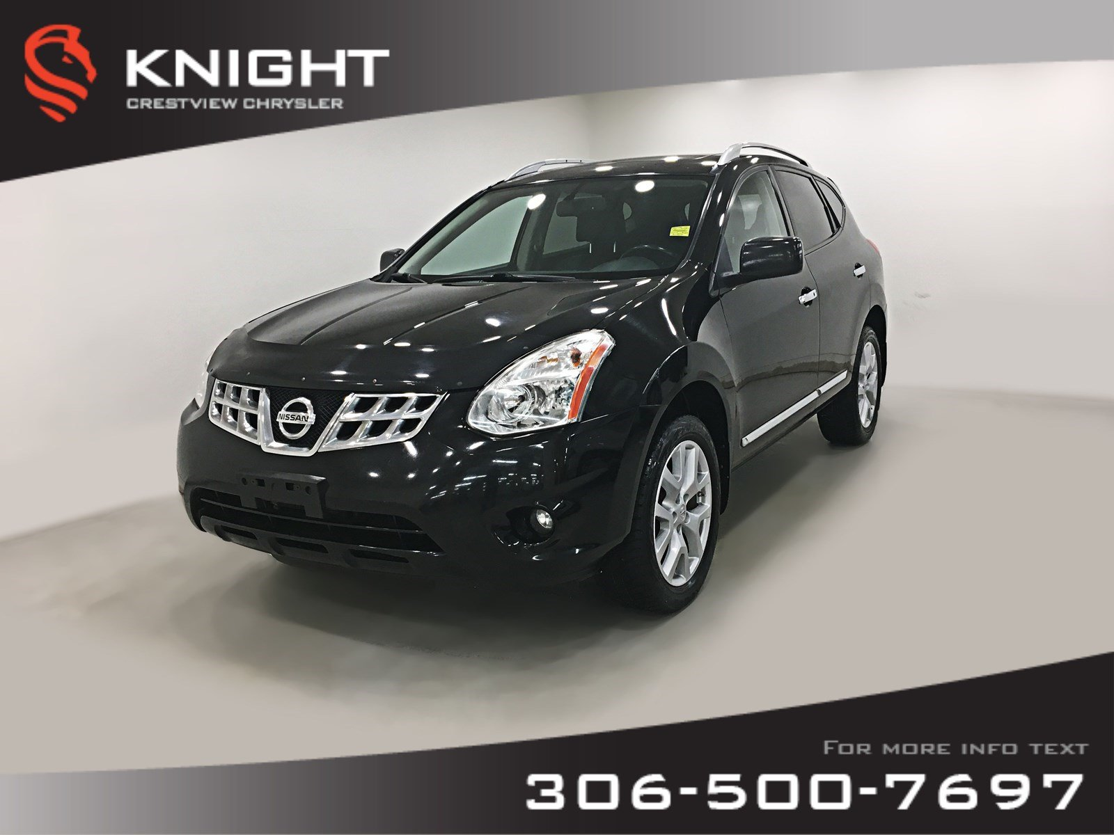 Pre-Owned 2011 Nissan Rogue SL AWD | Leather | Sunroof | Navigation