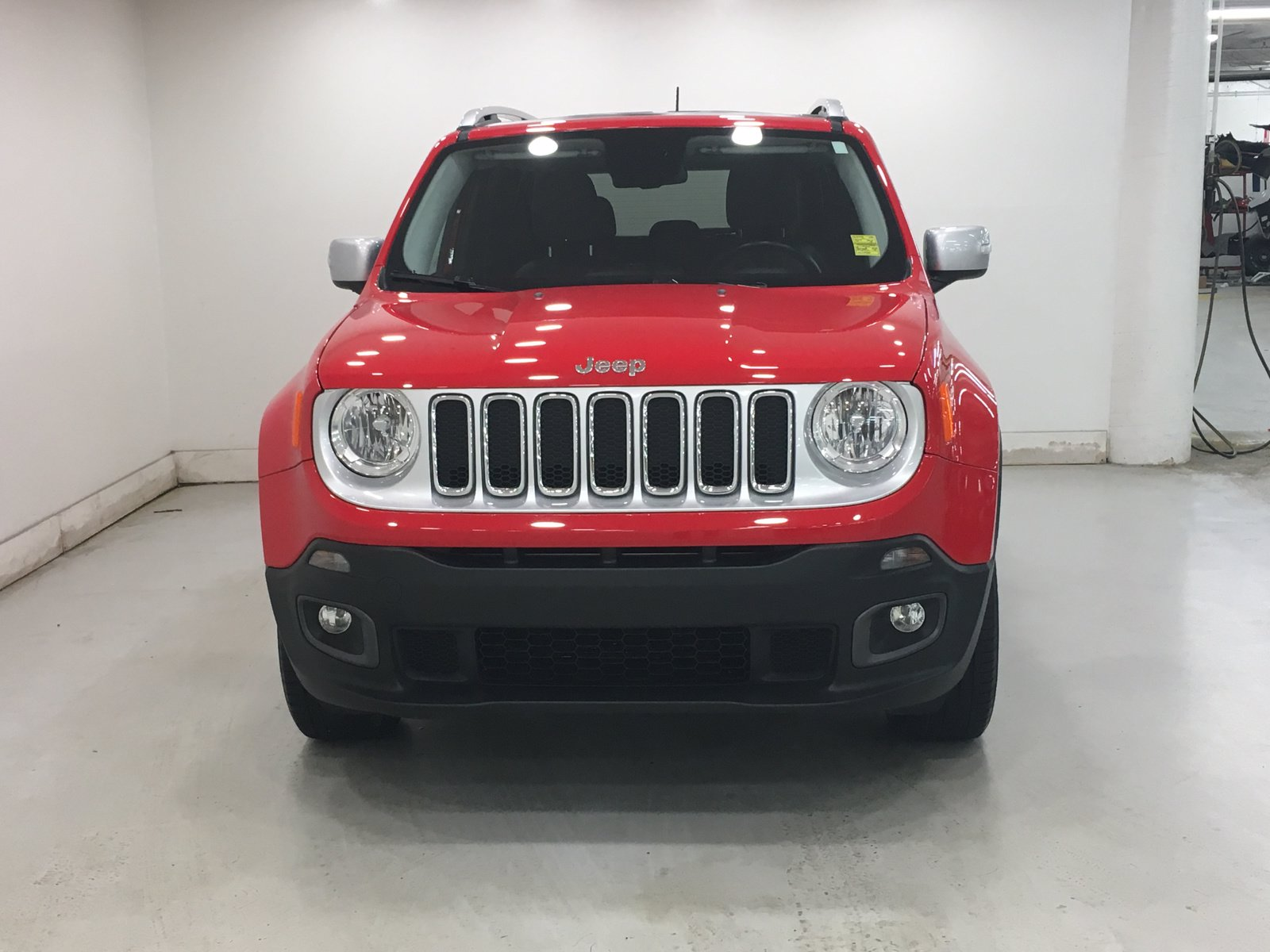 Certified Used 2017 Jeep Renegade Limited 4x4 | Leather ...