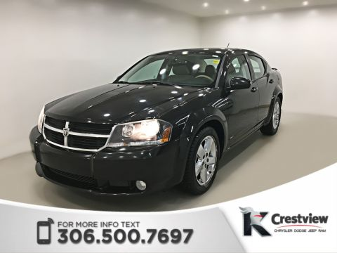Pre-Owned 2008 Dodge Avenger R/T | Leather | Sunroof | Remote Start