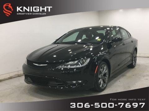 Certified Pre-Owned 2016 Chrysler 200 S AWD | Leather | Sunroof | Navigation