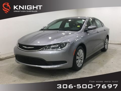 Certified Pre-Owned 2016 Chrysler 200 LX