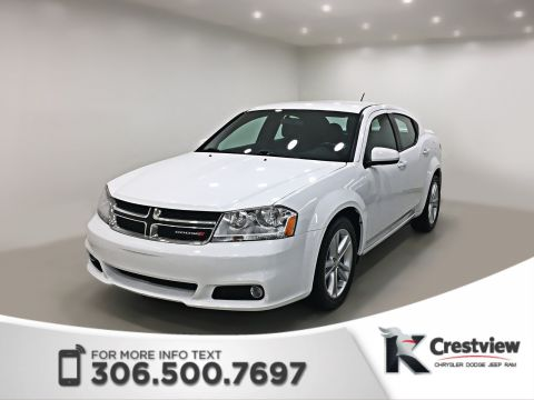 Pre-Owned 2014 Dodge Avenger SXT | Heated Seats