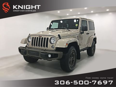 Pre-Owned 2016 Jeep Wrangler 75th Anniversary | Leather | Navigation | Remote Start