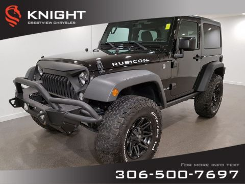 Certified Pre-Owned 2016 Jeep Wrangler Rubicon | Navigation