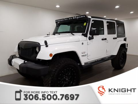 Certified Pre-Owned 2016 Jeep Wrangler Unlimited Sahara | Navigation | Remote Start