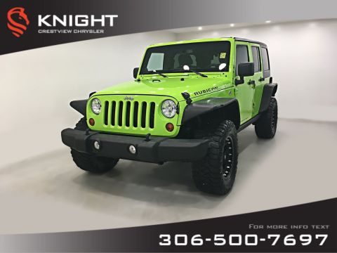 Pre-Owned 2013 Jeep Wrangler Unlimited Rubicon | Heated Seats | Navigation | Remote Start