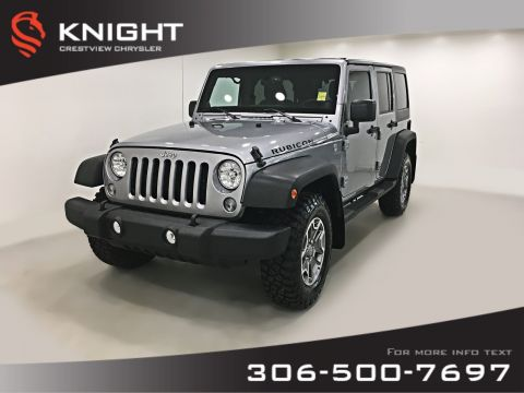Certified Pre-Owned 2014 Jeep Wrangler Unlimited Rubicon | Navigation | Remote Start