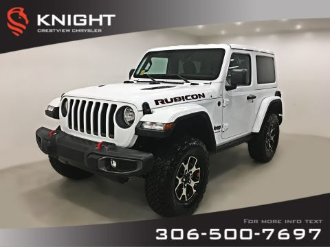 New 2018 Jeep Wrangler Rubicon Turbo | Navigation 4WD Convertible