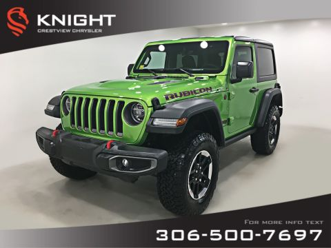 New 2019 Jeep Wrangler Rubicon Turbo | Navigation | Remote Start
