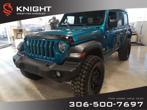 New 2020 Jeep Wrangler Unlimited Sport 'S' | Lift Kit | New Wheels and Tires