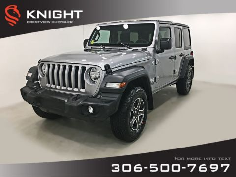 New 2019 Jeep Wrangler Unlimited Sport 'S' 4WD Convertible