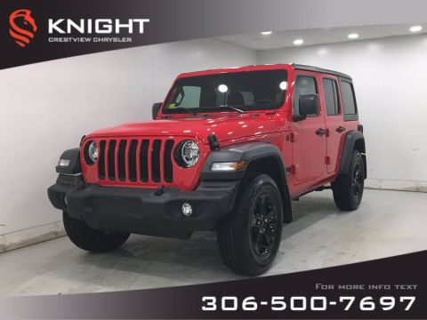 New 2020 Jeep Wrangler Unlimited Sport Altitude | Heated Seats and Steering Wheel | Remote Start