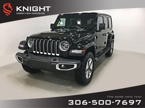 New 2019 Jeep Wrangler Unlimited Sahara | Navigation | Remote Start 4WD Convertible