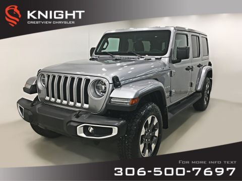 Certified Pre-Owned 2018 Jeep Wrangler Unlimited Sahara | Navigation | Remote Start