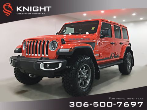 New 2020 Jeep Wrangler Unlimited Sahara | Lift Kit | New Wheels and Tires | Navigation