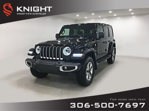 New 2019 Jeep Wrangler Unlimited Sahara | Leather | Navigation