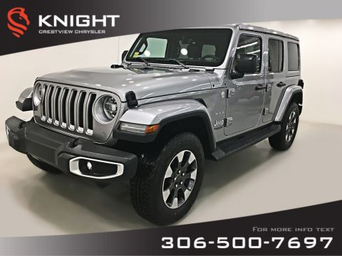 Certified Pre-Owned 2018 Jeep Wrangler Unlimited Sahara | Leather | Navigation | Remote Start