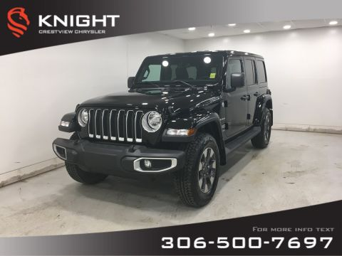 Certified Pre-Owned 2018 Jeep Wrangler Unlimited Sahara | Leather | Navigation | 2.0Turbo