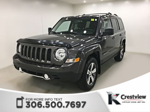 Pre-Owned 2016 Jeep Patriot High Altitude 4x4 | Leather | Sunroof | Remote Start