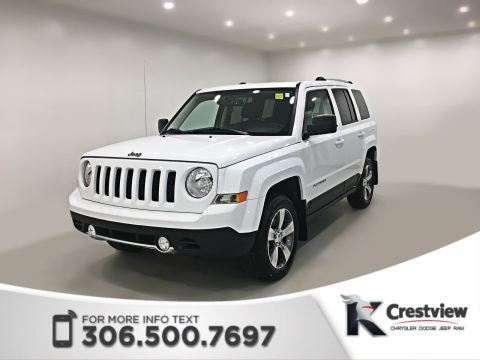 Certified Pre-Owned 2017 Jeep Patriot High Altitude Edition 4x4 | Sunroof | Remote Start