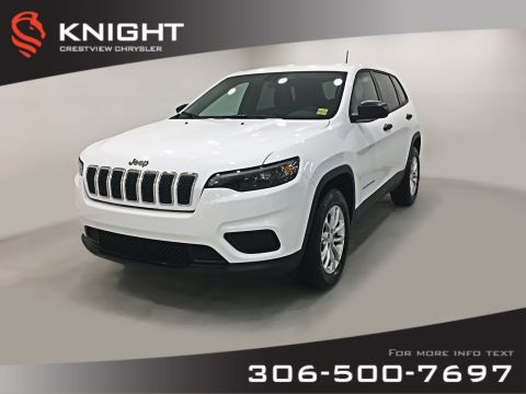 New 2019 Jeep Cherokee Sport 4x4 V6 | Heated Seats and Steering Wheel | Remote Start