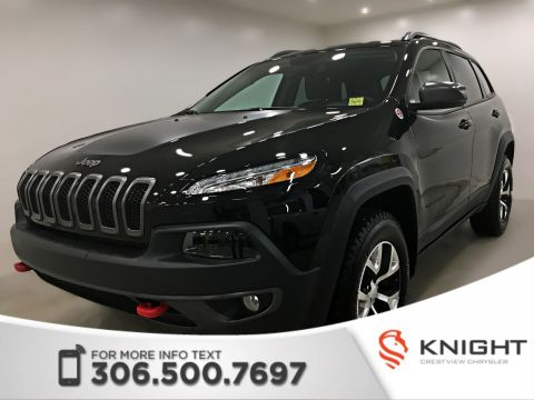 Certified Pre-Owned 2018 Jeep Cherokee Trailhawk Leather Plus 4x4 | Sunroof | Navigation