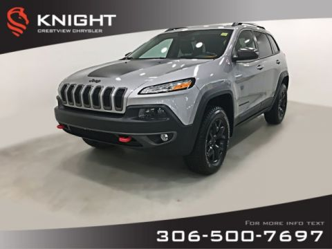 Certified Pre-Owned 2015 Jeep Cherokee Trailhawk 4x4 | Leather | Remote Start