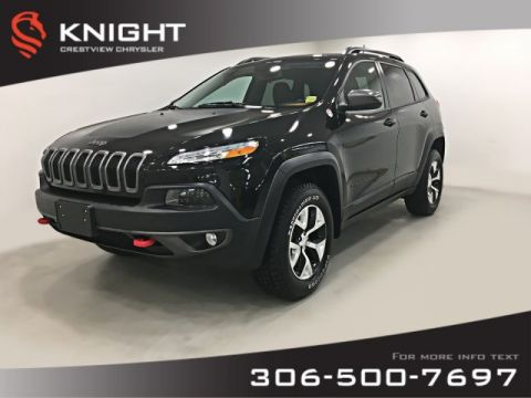 Certified Pre-Owned 2016 Jeep Cherokee Trailhawk 4x4 | Leather | Navigation | Remote Start