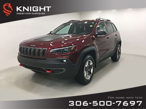 Certified Pre-Owned 2019 Jeep Cherokee Trailhawk Elite 4x4 Turbo | Sunroof | Navigation