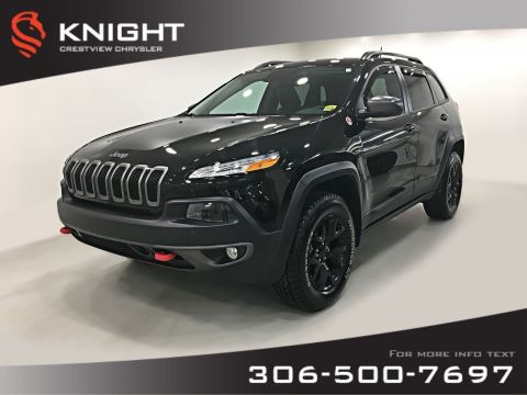 Certified Pre-Owned 2018 Jeep Cherokee Trailhawk Leather Plus 4x4 V6 | Sunroof | Navigation | Remote Start