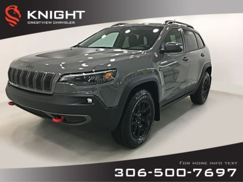 Pre-Owned 2019 Jeep Cherokee Trailhawk 4x4 V6 | Leather | Navigation | Remote Start